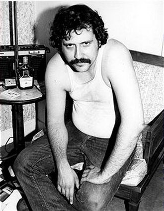 Lester Bangs - Bangs photographed by Roberta Bayley in 1976