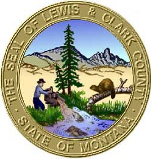 Lewis and Clark County, Montana - Image: Lewis and Clark County mt seal