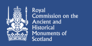 Royal Commission on the Ancient and Historical Monuments of Scotland - Logo of the RCAHMS.