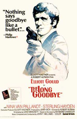 The Long Goodbye (film) - theatrical release poster