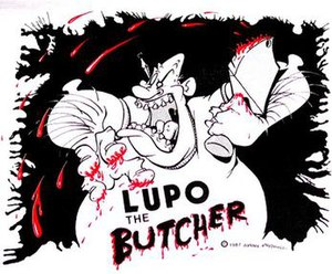Lupo the Butcher - Theatrical release poster.
