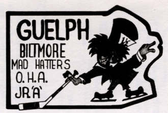 Guelph Platers - Logo 1972-75