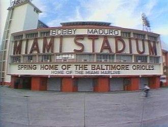 Miami Stadium - Image: Miami stadium