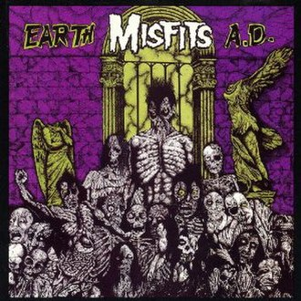 Earth A.D./Wolfs Blood - Image: Misfits Earth A.D. cover