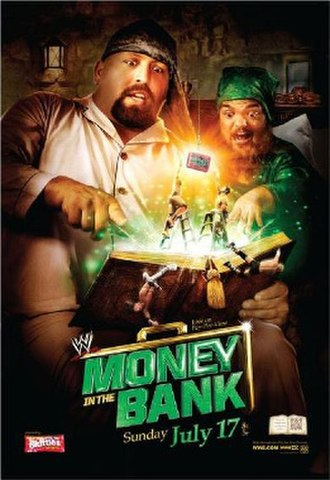 Money in the Bank (2011) - Promotional poster featuring Big Show and Hornswoggle