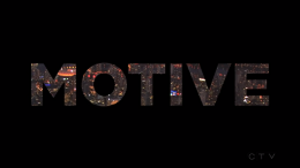 Motive (TV series) - Image: Motive Intertitle