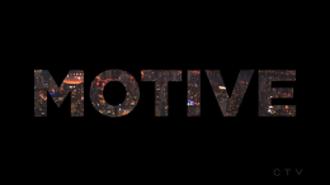 Motive (TV series) - Image: Motive Intertitle
