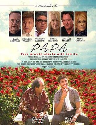 Papa (2018 film) - Promotional poster