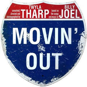 Movin' Out (musical) - Original Broadway Logo