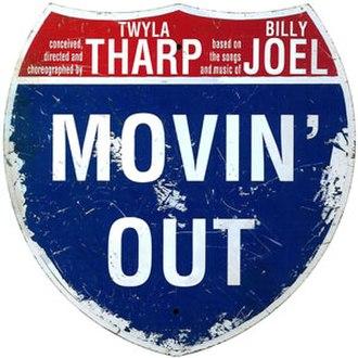Movin' Out (musical) - Original Broadway Logo