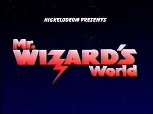 Watch Mr. Wizard - Image: Mr wizards world opening title shot