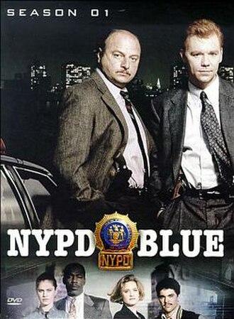 NYPD Blue (season 1) - Season 1 U.S. DVD Cover