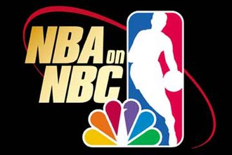 NBA on NBC - NBA on NBC logo used from 2000 to 2002