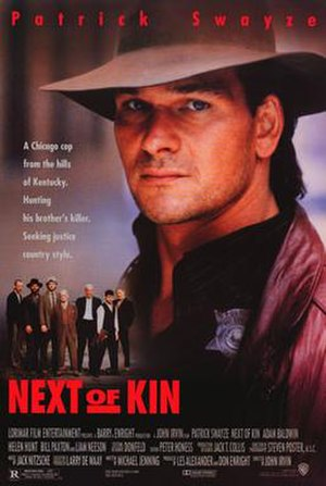 Next of Kin (1989 film) - Theatrical release poster
