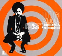 A contemporary view of Nina Simone on the cover of Remixed and Reimagined (2006)