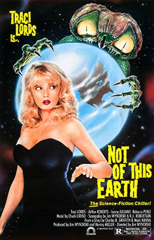 Not of This Earth (1988 film) - Theatrical release poster