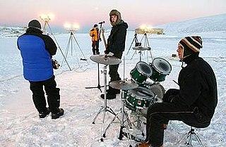 band based at Rothera Research Station, Antarctica