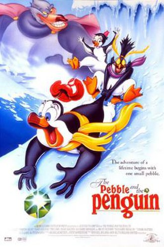 The Pebble and the Penguin - Original theatrical release poster