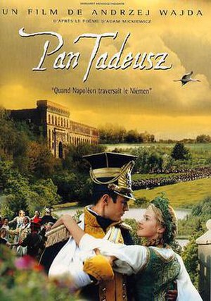 Pan Tadeusz (film) - Promotional movie poster for the film