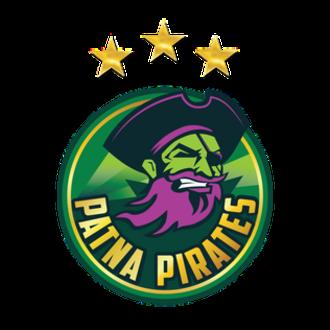 Patna Pirates - Image: Patna Pirates logo