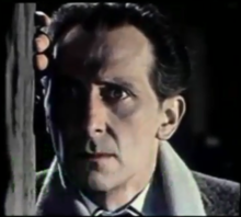 Peter Cushing, from The Brides of Dracula (1960).png