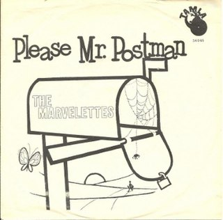 Please Mr. Postman original song written and composed by Robert Bateman, Freddie Gorman, Brian Holland