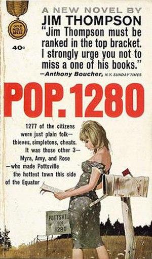 Pop. 1280 - Image: Pop 1280Novel