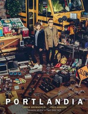 Portlandia (season 7) - DVD cover