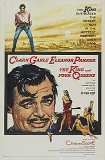 <i>The King and Four Queens</i> 1956 film by Raoul Walsh