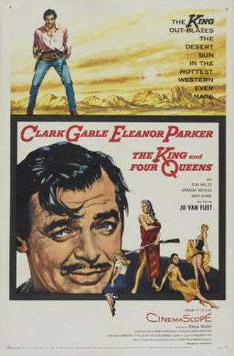 The King and Four Queens - Image: Poster of the movie The King and Four Queens