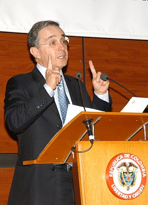 LatinFinance - President Uribe of Colombia at the LatinFinance Andean Investment Forum