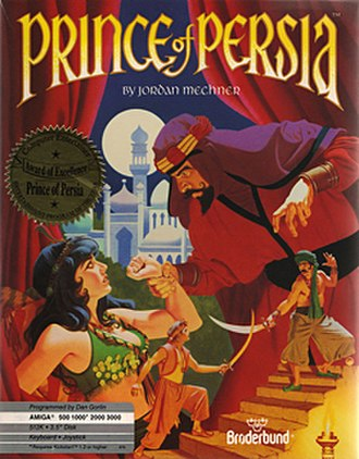Prince of Persia (1989 video game) - Image: Prince of Persia 1989 cover