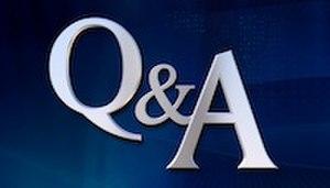 Q&A (U.S. talk show) - Image: Q&A logo C SPAN 200