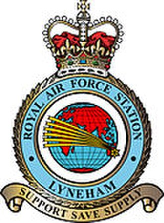 MoD Lyneham - The station badge of RAF Lyneham reflected its role in air transport