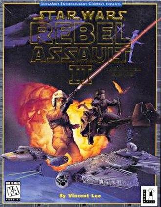 Star Wars: Rebel Assault II: The Hidden Empire - Image: RAI Ibox