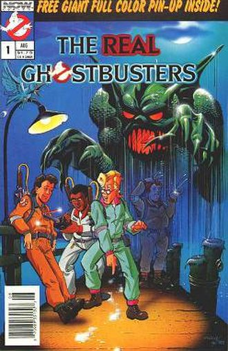The Real Ghostbusters (comics) - Issue 1 of NOW Comics The Real Ghostbusters