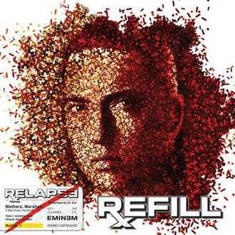 Relapse (Eminem album) - Image: Relapse Refill Cover