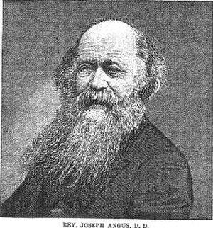 Joseph Angus - Image: Rev Joseph Angus DD (1816 1902)