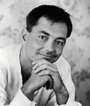 Rich Mullins - Image: Rich Mullins black and white short hair