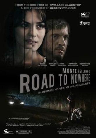 Road to Nowhere (film) - Theatrical release poster