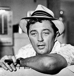 Max Cady - Robert Mitchum as Max Cady in Cape Fear (1962).