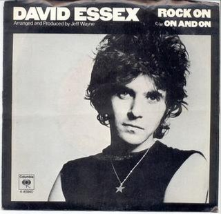 Rock On (song) 1973 single by David Essex