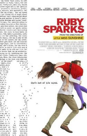 Ruby Sparks - Theatrical release poster