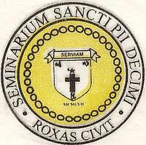 St. Pius X Seminary - Image: SPXLOGO