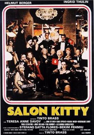 Salon Kitty (film) - Poster