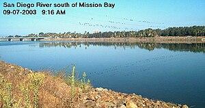 San Diego River - Image: Sandiegoriver 3