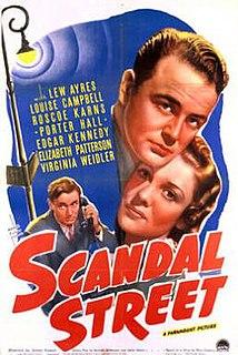 <i>Scandal Street</i> 1938 film by James P. Hogan