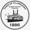Official seal of Claremont, Virginia