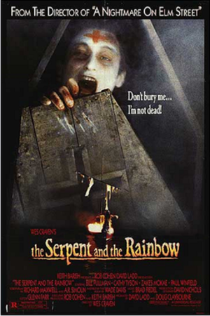 The Serpent and the Rainbow (film) - Theatrical release poster