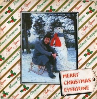 Merry Christmas Everyone - Image: Shakin' Stevens Merry Christmas Everyone single cover